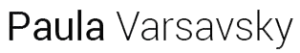 Logo Paula Varsavsky