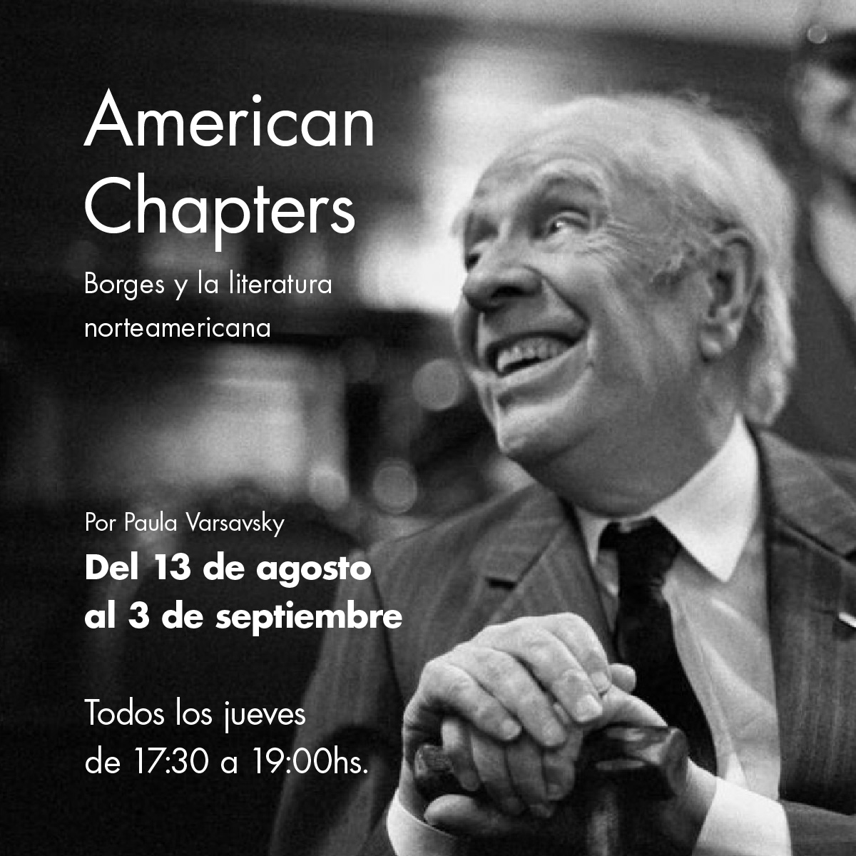American-Chapters-Borges-posteo-general-2